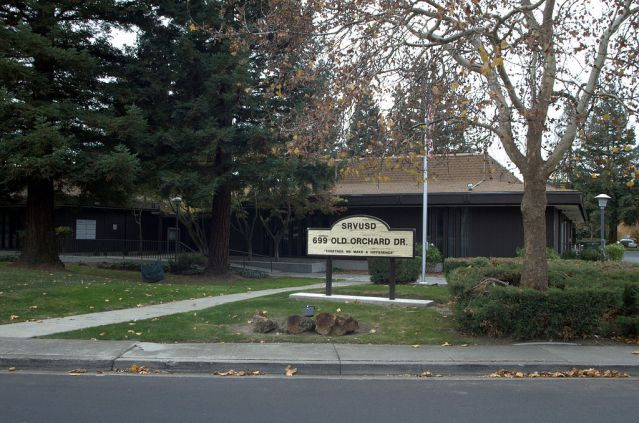 The San Ramon Valley Unified School District offices located on Old Orchard Drive in Danville, Calif.